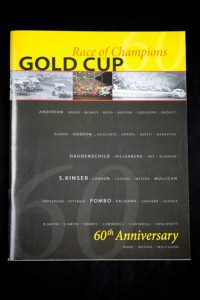 Gold Cup Program $20.00 + shipping
